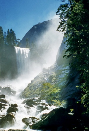 Yosemite Falls 2 - photo by Dick Davis
